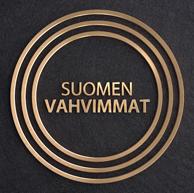 Suomen vahvimmat Asiakastiedon myöntämän luottosertifikaatin logo