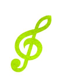 vihreä nuottiavain